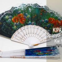 Souvenir Kipas Spanyol Putih Kw 1