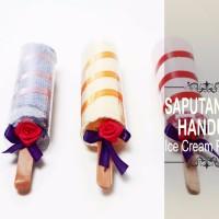 Souvenir Saputangan Handuk Ice Cream Potong