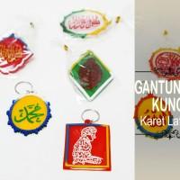 Souvenir Gantungan Kunci Karet Lafadz
