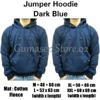 Sweater Jumper Hoodie Polos Dark Blue