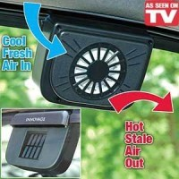 Pendingin Mobil Auto Cool Solar Powered Air Ventilation System