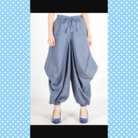 Celana Rok Jogger Model Zaskia Balloon Skirt / Alisa Pant Bahan Supern