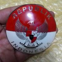 Burung Garuda Badge Sticker Metal Vespa Congo Vgla Lx