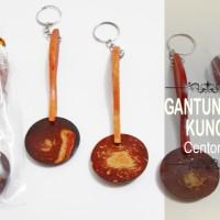 Souvenir Gantungan Kunci Centong Kayu