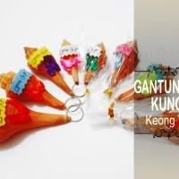 Souvenir Gantungan Kunci Keong Thank You