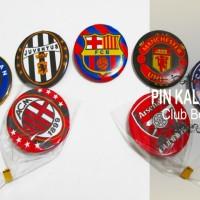 Souvenir Pin Kaleng Klub Bola