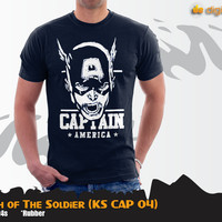 Captain America Marvel Tees The Wrath Of The Soldier (KS CAP 04)