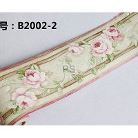 Border Sticker Soft Pink Flower