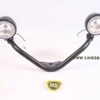 Lightbar ( Tempat Dudukan Lampu Tambahan + Cree Lamp ) Vulcan S 6505