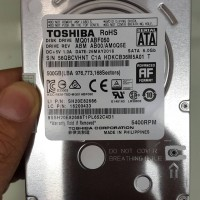 Toshiba HDD Internal Laptop 2.5 Inch 500 GB 5400 RPM SATA
