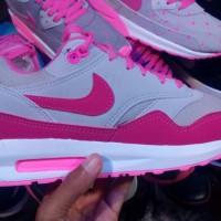 sepatu nike airmax pink abu women // cewek // olahraga