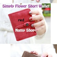 SIMPLY FLOWER SHORT WALLET