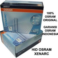 HID OSRAM XENARC FOGLAMP NEW XENIA (Osram Genuine) 6000K