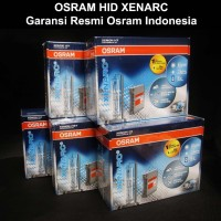 HID OSRAM XENARC FOGLAMP TRAVELLO (Osram Genuine) 6000K