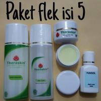PAKET THERASKIN FLEK ISI 5 (WITH FLEK SOL)