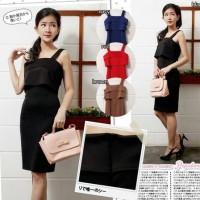 Zifikirana Plain Bodycon Mini Dress