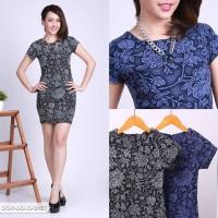 Vicelya Flowery Bodycon Mini Dress