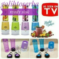 Blender Mini Edisi Baru Termurah - Shake N Take 3 - 2 Tabung Warna