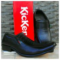 Kickers Sepatu Kantor Pria, Kulit Asli