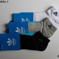Kaos kaki pendek Adidas / Kaus olahraga se mata kaki Pria & Wanita K3