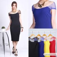 Legeah Plain Bodycon Mini Dress