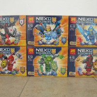 lego lele 79243 nexo knights+weapon isi6