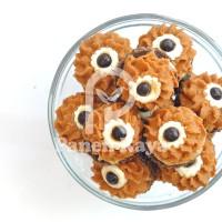 Semprit Mocca Vanila PR Kue Kering Lebaran Natal Coklat Mata Satu 100g