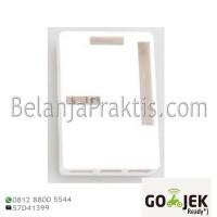 Case Putih - White Enclosure Box - GPIO Camera Hole for Raspberry Pi