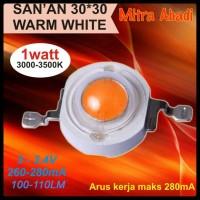 HPL 1 Watt Warm White 280 mA 100-110 LM