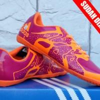 sepatu futsal Adidas Adizero X.15 Chaos Pink Orange