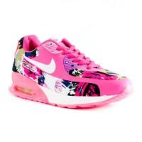 Sepatu Lari Nike Air Max 90 Flower [15118W-PKPT]