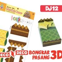 Deco Deco Bantal Dipan Kamar JiPo PiPoYa Papercraft Mainan Anak