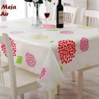 Taplak Alas Meja Anti Air 130x180 Waterproof PEVA Table Cloth