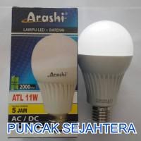 Lampu LED emergency Arashi 11 watt 11w