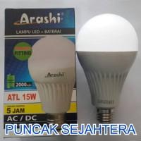 Lampu LED emergency Arashi 15w 15 watt