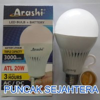 Lampu LED emergency Arashi 20 watt 20w