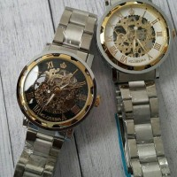 jam tangan pria orkina tanpa batre (tipe tali stainless) Summer 2016
