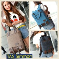 Tas Kanvas Simmons  [NEW TREND]