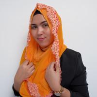 Hijab/Jilbab Hoodie Instant Fiori 6RBP
