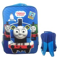 Tas Ransel Sekolah Anak SD 3D Timbul Thomas And Friends Hard Cover