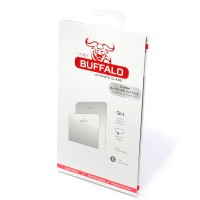 iPhone 5/5s/SE - Buffalo Tempered Glass, Onetime Warranty