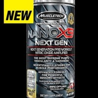 Muscletech NaNO X9 NEXT GEN 120 Caps
