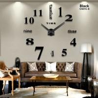 Jam dinding Raksasa DIY 80-130cm Diameter - ELET00659