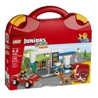 LEGO Juniors # 10659 Vehicle Suitcase Junior Boy Gift Ideas Koper Main