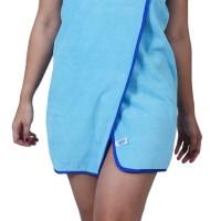 Dress Handuk Microfiber Kancing XL, aqua blue, DKXL-194310