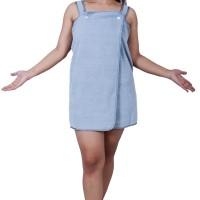 Dress Towel Kancing Microfiber Size M, brown