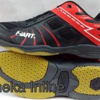Sepatu Badminton HART HS 703 ( Blk/Red )
