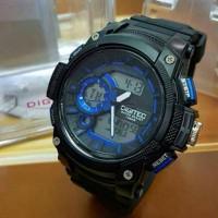 Jam Tangan Pria Digitec DG 3028 Black list Blue