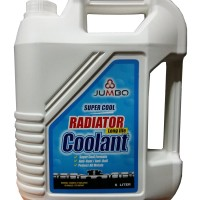 Jumbo Super Cool Radiator Coolant Air Radiator Hijau 5 Liter Original