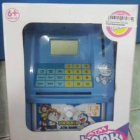 MAINAN ATM BANK KARAKTER DORAEMON / ATM BANK MINI
